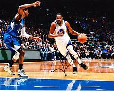KEVIN DURANT - GOLDEN STATE WARRIORS  8x10 Photo signed