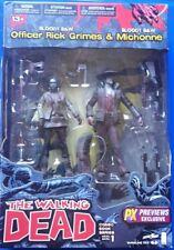 McFarlane Toys The Walking Dead Comic Series 1 Rick and Michonne B&W Figures