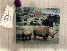 Figue Canvas Rhino Pouch NWT