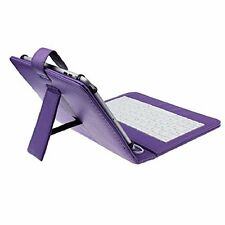 Protective PU Leather Keyboard Case for Lenovo Tab 3 7 Inch Tablet PC Purple