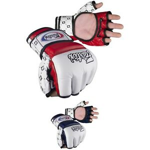 MMA Gloves in Leather, New, Free Shipping.