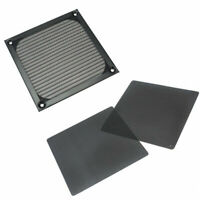 Black Wire PC Fan Cooling Mesh Dustproof Dust Filter Case Cover 120mm X 120mm
