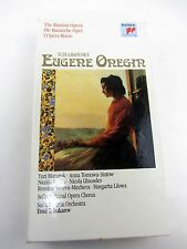 Tchaikovsky EUGENE ONEGIN Russian Opera Emil Tchakarov Cassette Box Set w/ Book