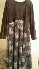 Unbranded Velvet Floral Women's Maxi Dresses