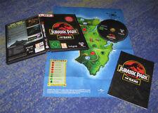 Jurassic Park - The Game PC lkpl. Deutsch mit Poster usw. Landkarte