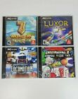 Lot Of 4 Computer's Games [pc Dvd-rom]