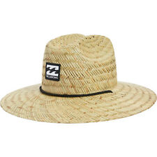 Billabong Mens Straw Hat Tides Natural Lifeguard Sun Shade MAHTATID NAT