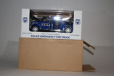 TAYLOR MADE TRUCKS DIECAST NEW JERSEY POLICE PBA 1950'S CHEVROLET WRECKER, 1:24
