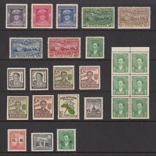 (RP48) PHILIPPINES - 1948 COMPLETE YEAR STAMP SETS WITH BOOKLET PANE. MUH