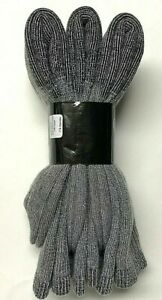 3 Pair Men Out Door Acrylic & Merino Wool Work / Hiking Gray Boot Sock SZ 13-15