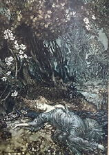 Arthur RACKHAM (Illustrator): Shakespeare's A Midsummer Night's Dream, SIGNED