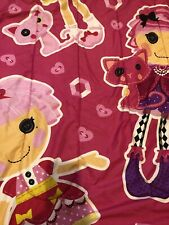 Used - Lalaloopsy Twin Reversible - Comforter -  Get two looks in one!