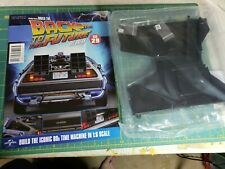 Eaglemoss build the Back to the Future DeLorean Issue #29 Chassis parts
