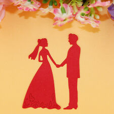 Bride Groom Wedding Cutting Dies Stencil Scrapbooking Album Embossing Paper Card