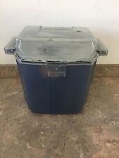 Hoover Steam Vac Steamvac Lower Dirty Water Tank With Lid And Handle Blue