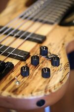 WOLF SSB 7 String Jazz bass Guitar Spalted Maple !!!