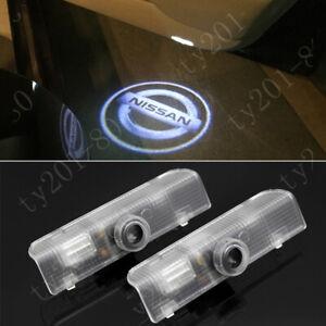 4X Car LED Door Light Laser Logo Projector For Nissan Altima Armada Quest Titan