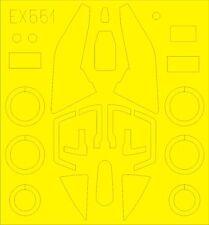 Eduard Paint Mask EX551 1/48 Sukhoi Su-17M3/M4 Fitter Kitty Hawk