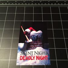 Silent Night Deadly Night 1984 movie vinyl decal sticker Christmas horror 80s