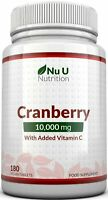 Cranberry Tablets Cystitis, Urinary tract infections 10,000mg High Strength