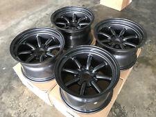 JDM 15x9 GunMetal pcd114.3x5 wheels watanabe RS 240sx s13 silvia s14 180sx s30