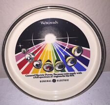 Vintage General Electric Ceramic Ashtray 1980s