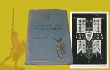 Il Gonfalone della provincia di Milano Umberto di Savoia Croce del Carroccio