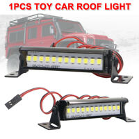Super Bright 12LED Light Bar Roof Lamp Accessories for TRX4 SCX10 KM2 RC Crawler