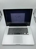 APPLE MACBOOK PRO 17 PRE-RETINA UPGRADED CORE i7 8GB RAM 1TB HYBRID SSD WARRANTY