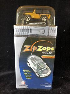 RadioShack Zip Zaps Micro RC Jeep Wrangler 1:64 Radio Control Starter Kit SEALED