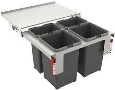 FRANKE Sorter Garbo 60-4 Abfalltrennsystem / 2 x 8 l / 2 x 12 l Behälter / 121.0