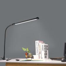 LED Lumière de Serrage Dimmable Lampe Bureau Lecture Souple Table USB 8W