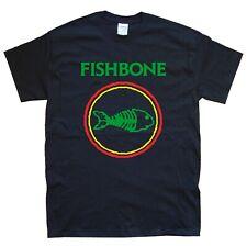 FISHBONE new T-SHIRT sizes S M L XL XXL colours black white