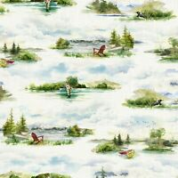 Hoffman Fabrics Lake Digital Fly Home Digital  Collection Quilting R4642H-31 SBY
