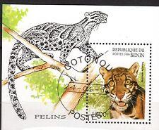 0119+ BENIN  BLOC  FELINS    1996