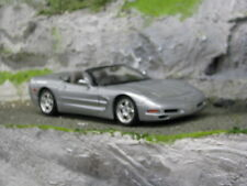 Bburago Chevrolet Corvette C5 Cabriolet 1997 1:18 Silver