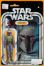 Star Wars (2015) #4 Boba Fett Action Figure Variant Cover - JTC - Marvel Comics