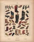 Orient - Footwear - 44 Color Examples - 1925 Costume Plate