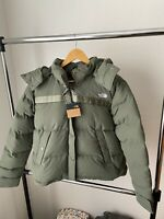 The North Face Brand New Womens Forester Down Jacket Sage Green XL MSRP $259