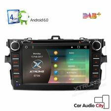 Android 6.0 In Dash Car CD DVD Stereo GPS Sat Nav DAB+ Radio for Toyota Corolla