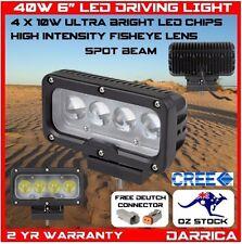 "40W 6"" High Intensity 4D Optic Fisheye Lens CREE LED Driving Light 4wd 4x4 roof"