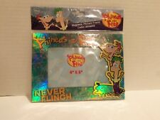 DISNEY PHINEAS & FERB NEVER FLINCH MAGNECTIC PICTURE FRAME (4X6)BOWLING FOR SOUP