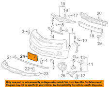 Chevrolet GM OEM 10-13 Camaro Front Bumper Grille-License Bracket 92218025