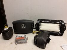 04 05 06 Volkswagen Touareg airbag set wheel Dash belt module gray  3D0909601C