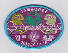 2015 SCOUTS OF CHINA (TAIWAN) - Jamboree On the Air & Internet JOTA JOTI Patch C