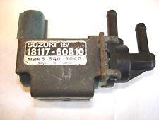 89-94 SUZUKI SWIFT GEO METRO OEM IDLE AIR CONTROL IAC VALVE 18117-60B10