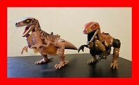 Two Transformers Beast Wars Deluxe DINOBOT Figures, Hasbro, Takara (1995,1996)