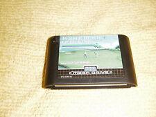 PEBBLE BEACH GOLF LINKS 1994 Sega Mega Drive Game RARE cartridge RETRO