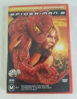 Spider Man 2 Collectors Edition DVD 2 Disc Set Tobey Maguire PAL 4 Marvel