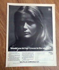 1970 York Ad The Air Conditioning People